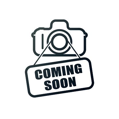 KOMBI LED OVAL Double Insulated Bulkhead BLACK 4000K - LF7551BK